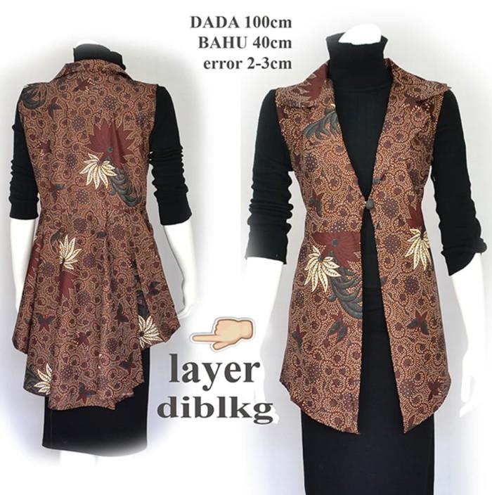 Promo Termurah C8x4 Outer Batik Tunik Batik Gamis Batik Atas Terlaris Y5j2 - Blanja.com
