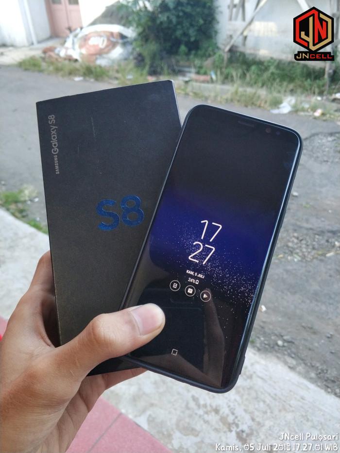 Jual Samsung Galaxy S8 Black 4 64 Sein Garansi Panjang Desember 2018