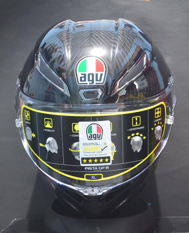 Helm AGV pista GPR carbon glossy 2