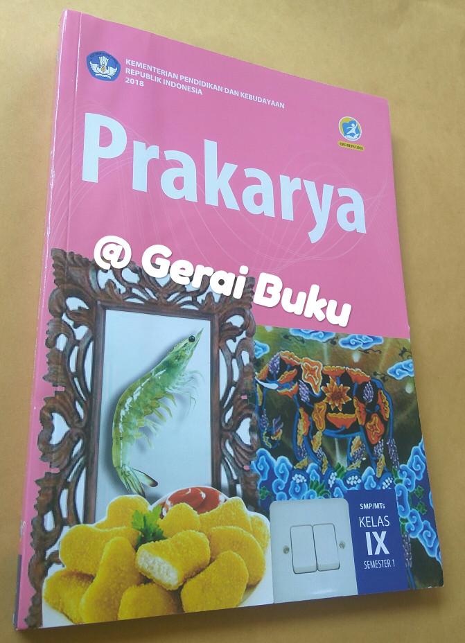 Foto Produk Buku Prakarya Kelas 9 Semester 1 Revisi 2018 dari Gerai Buku Sekolah