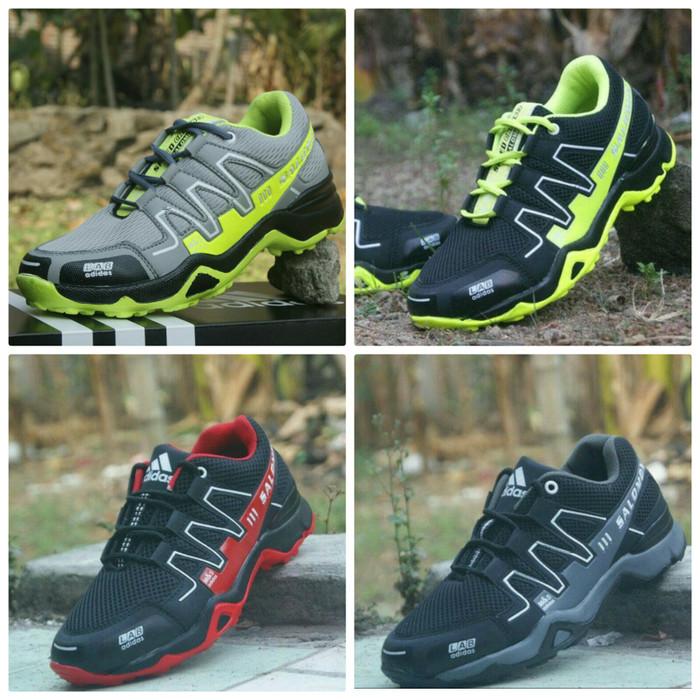 acheter en ligne 27c71 46925 Sepatu Adidas Salomon Sneaker Outdoor Sport Grade Original Pria