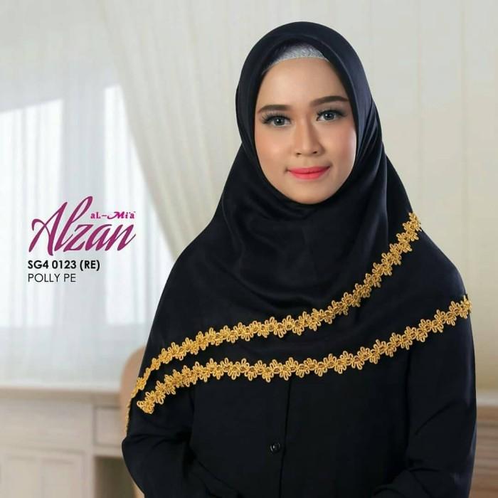 Jilbab / Hijab Brand AL-MIA SEGI 4 Alzan