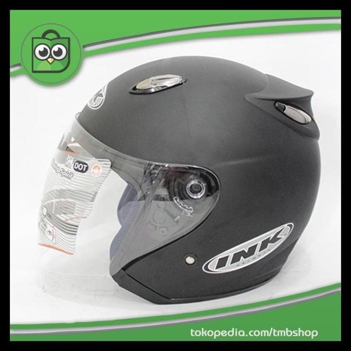 Terlaris ! Update Stock ! Best Seller Helm Best 1 Hitam Doff Model Ink 1