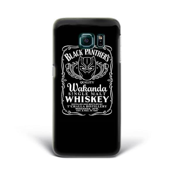 Hardcase Case Fullprint Black Panther 1 for Samsung Galaxy S6 Edge