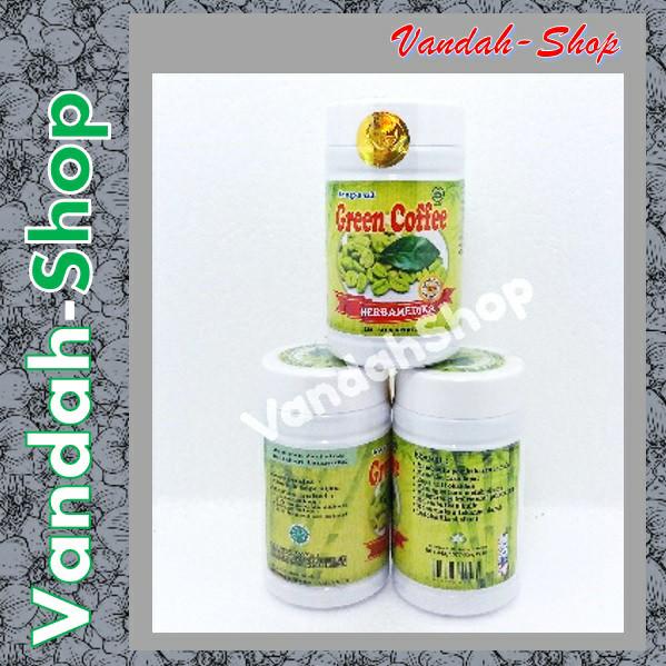 Kapsul Green Coffee / Kopi Hijau Pelangsing Diet Herbal