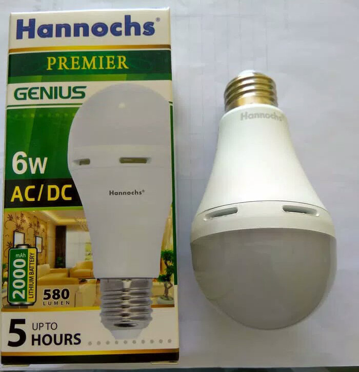 Lampu LED Emergency Magic Lamp Hannoch 6 Watt