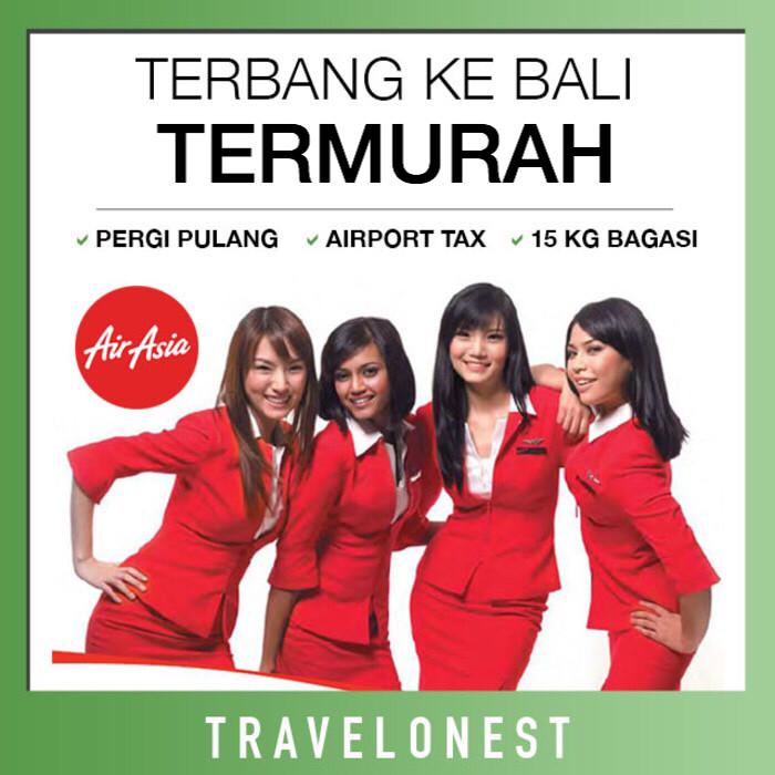 jual tiket pesawat air asia promo pulang pergi bali murah free rh tokopedia com