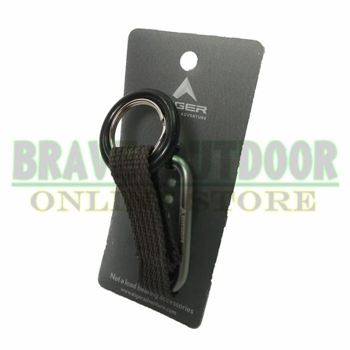 Jual Gantungan Kunci Carabiner Eiger Irg0185n Keychain Rd Jakarta Pusat Brave Outdoor Tokopedia