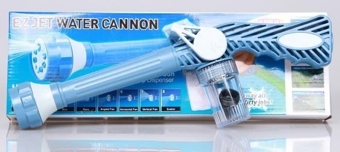 Fitur Ez Jet Water Canon Premium Edition Mesin Sempor Air Multi Source · EZ JET WATER CANNON TEMBAKAN AIR CUCI MOTOR DAN TANAMAN DLL Biru