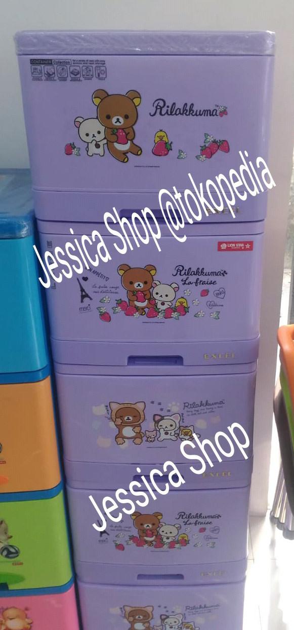 harga Lemari plastik laci lion star / container excel snow ice lion star l5 Tokopedia.com