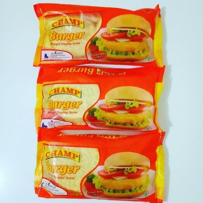 Champ Burger Ayam crispy