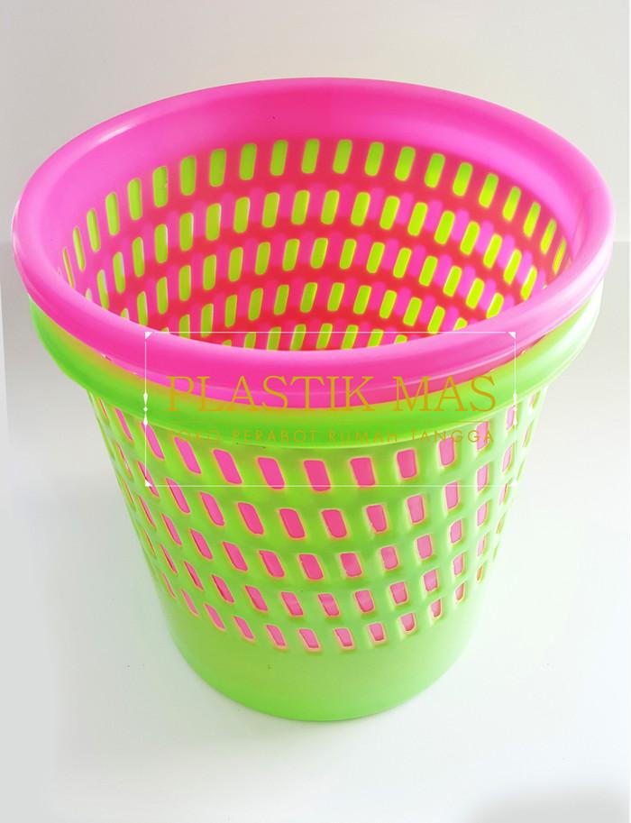 Jual Keranjang Sampah Plastik Tempat Sampah 10 Liter Jakarta Utara Ms C Shop Tokopedia