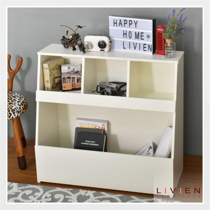 Avilla book rack - rak buku - lemari buku - rak susun