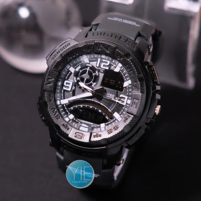 Jam Tangan Digitec DG 2057 Original Dual Time Tahan Air Skmei
