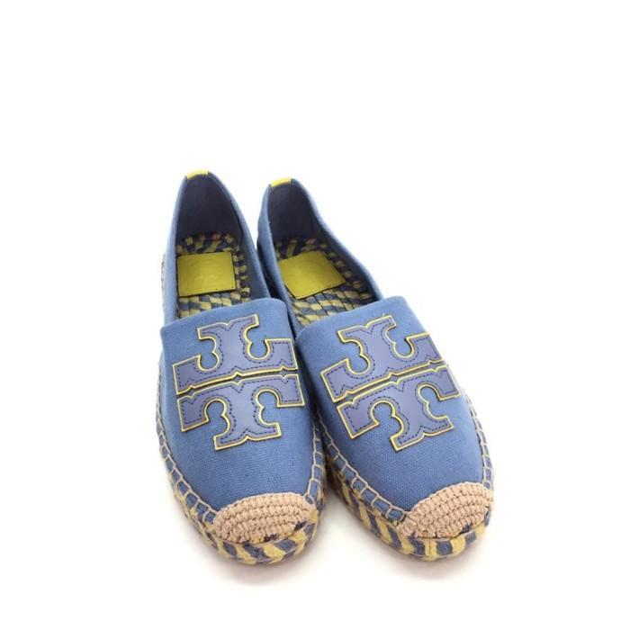 Jual Tory Burch Double T Espadrille Flat Shoes - Beverly Vivien ... 11c5bddfe2