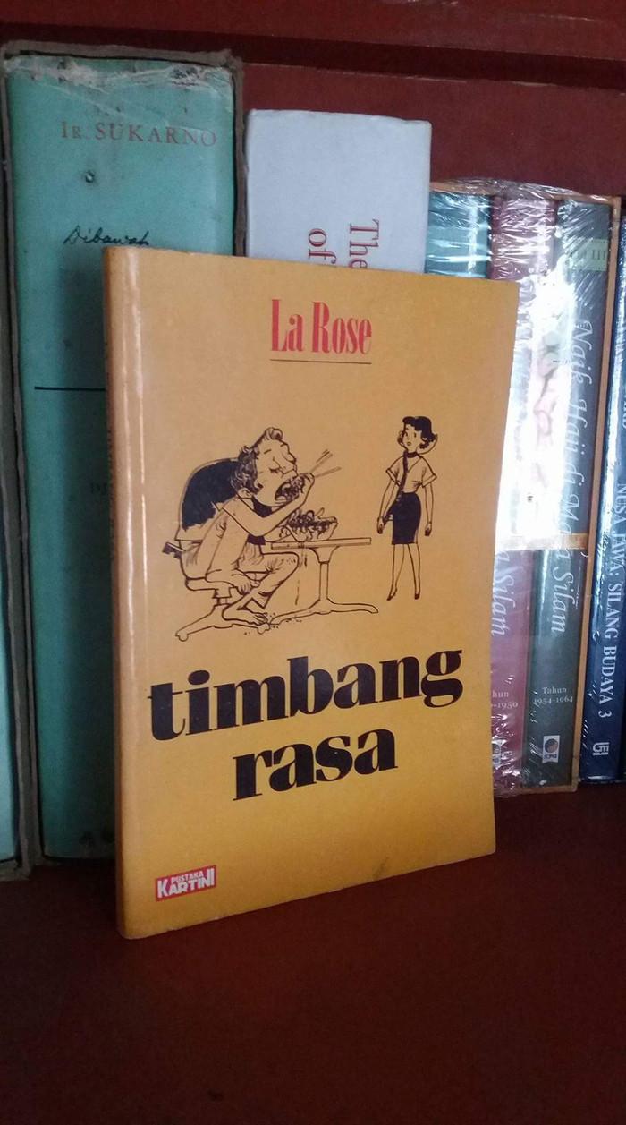 Jual Buku Timbang Rasa La Rose Pustaka Kartini Kota Pekanbaru Toko Djadul GM