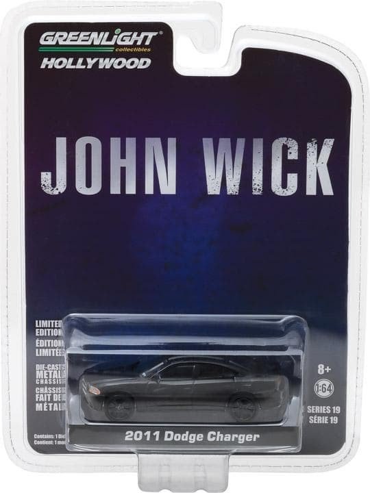 Greenlight 1/64 2011 Dodge Charger Hollywood Series 19 John Wick