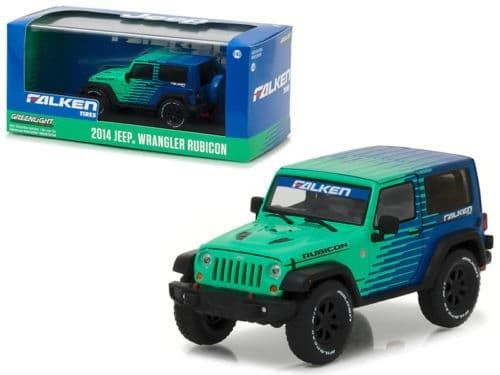 Greenlight 1/43 2014 Jeep Wrangler Rubicon Falken