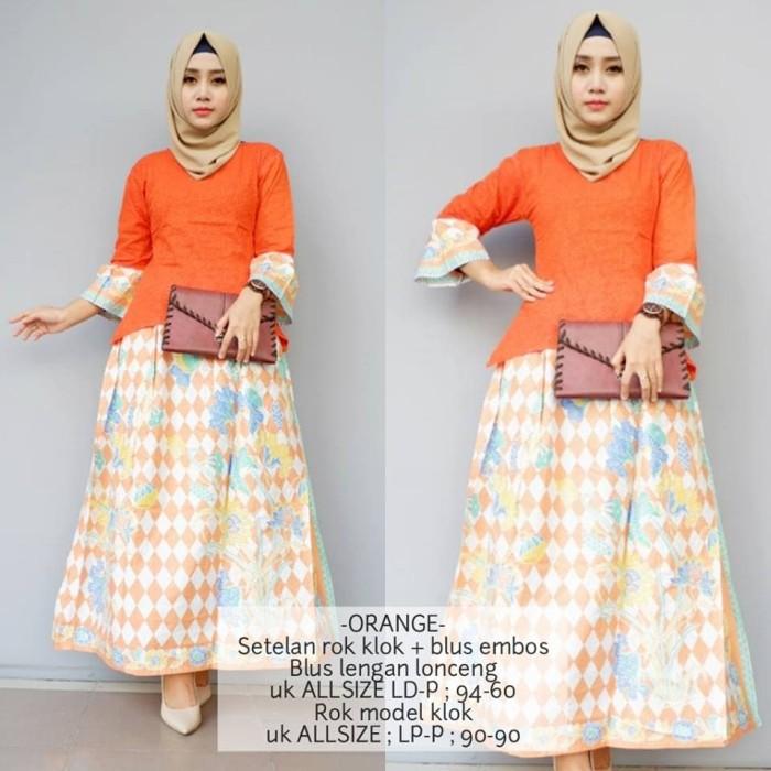 Jual Gb 229 Setelan Batik Wanita Rok Dan Blus L Baju Batik Setelan Kab Bantul Yani Collection Tokopedia