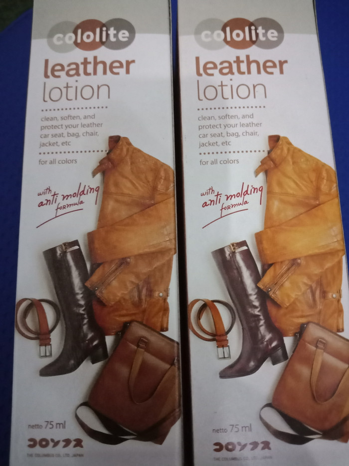 Pembersih bahan kulit cololite / cololite leather lotion