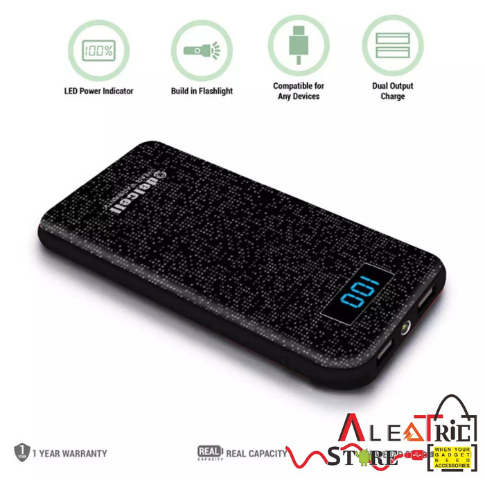 Remax Power Bank Biaphon Series Dual Port PPP-28 10000mAh Polymer Real Capacity Garansi Resmi. Source · Delcell NUMERO 10500mAh Real Capacity Digital ...
