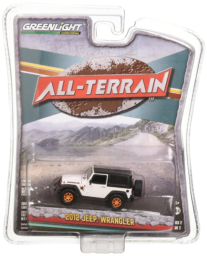 Jeep Wrangler GreenLight 1:64 All-Terrain Series 2 2012