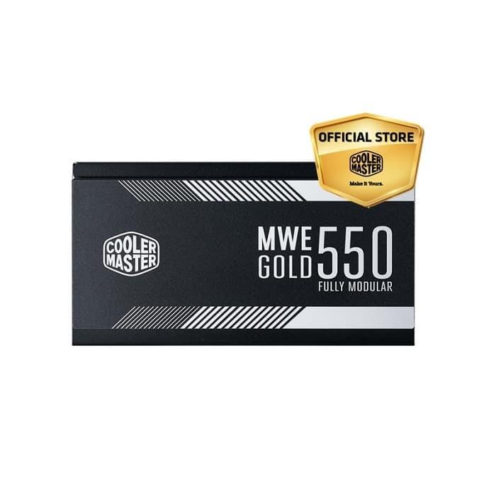 harga Cooler master mwe gold 550 80+ gold full modular [mpy-5501-afaag-eu] Tokopedia.com