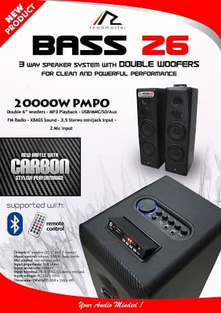 harga Speaker aktif roadmaster bass 26 Tokopedia.com