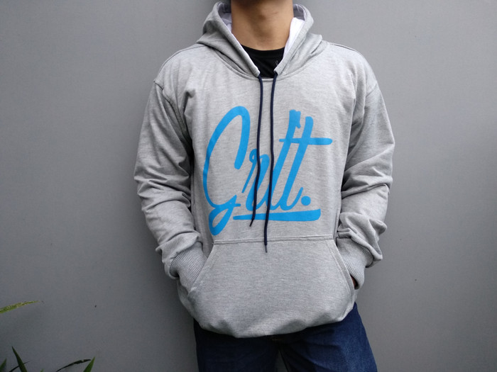 Jaket Hoodie Greenlight Abu Premium / Grosir Sweater Jumper