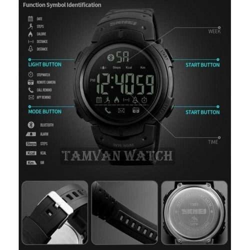 SMART WATCH KEREN SKMEI Jam Tangan Olahraga Smartwatch Bluetooth - 130