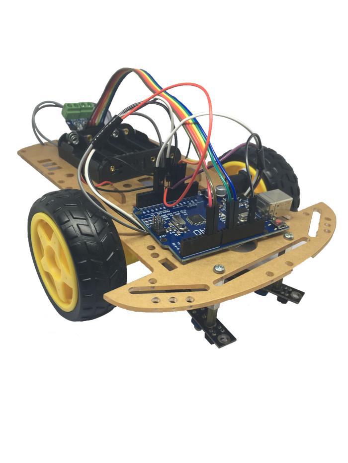 Jual Robot Line Follower Arduino 2 Sensor IR Tracer Edukasi Murah Terbaik -  Jakarta Barat - ArduinoCenter | Tokopedia