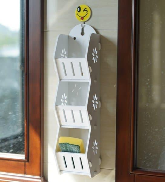 Foto Produk DW011 Rak Dinding serbaguna - Multifunction Hanging Rack DOMESTIC dari KASIH_BUNDA