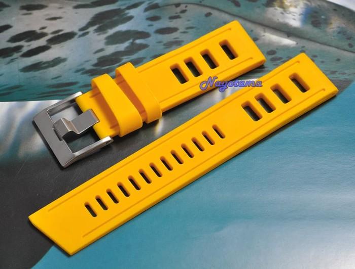 Jual 20mm Watchdis SEADIVE Yellow Kuning Rubber Strap Tali Jam ...