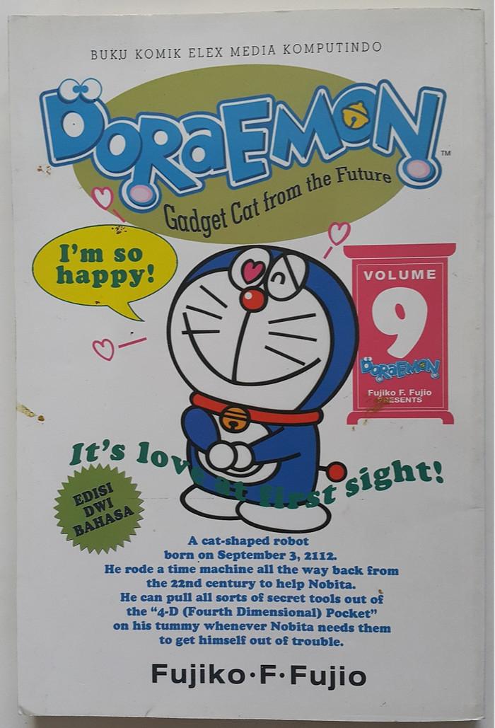 Jual Komik Doraemon Gadget Cat From The Future Seri 9 Kota Surabaya Books4you Tokopedia