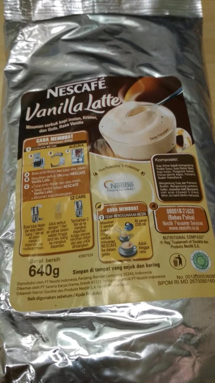 Nescafe Vanilla Latte By Nestle Professional Daftar Harga Classic 120gram Kualitas Hotel Resto Ampamp Cafe