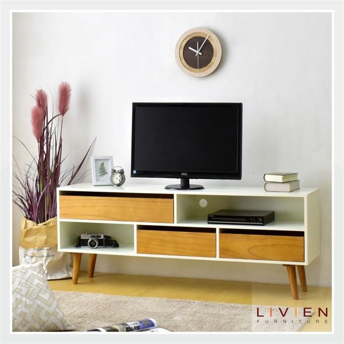 harga Livien cubic tv  dresser / meja tv / rak tv Tokopedia.com