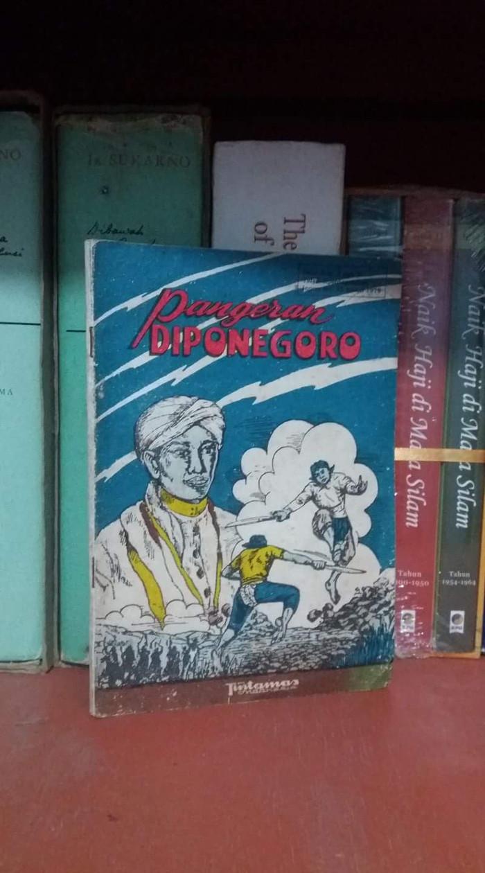 Jual Buku Pangeran Diponegoro Drs Achmad Effendi Tintamas Lawas Langka Jadu Kota Pekanbaru Toko Djadul GM