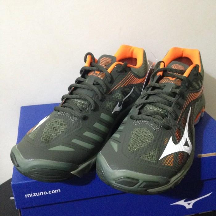 Sepatu Volley Mizuno Wave Lightning Z4 Forest Night Orange V1GA180039 13e116cfc9