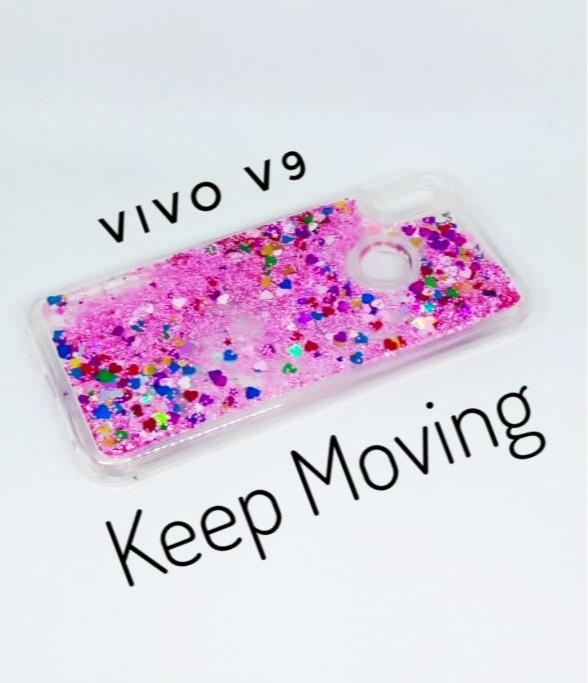 Case Water Glitter Vivo V9 Softcase TPU