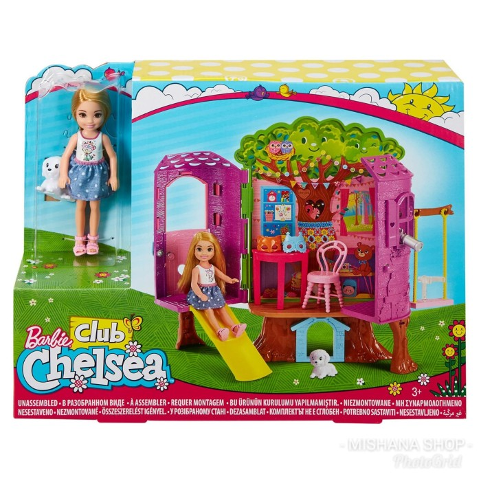 Foto Produk Rumah Pohon Boneka Barbie Club Chelsea Doll Treehouse - ORI Mattel dari Mishana Shop