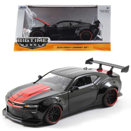 harga Jada 1/24 2016 chevy camaro ss with gt wing black red Tokopedia.com
