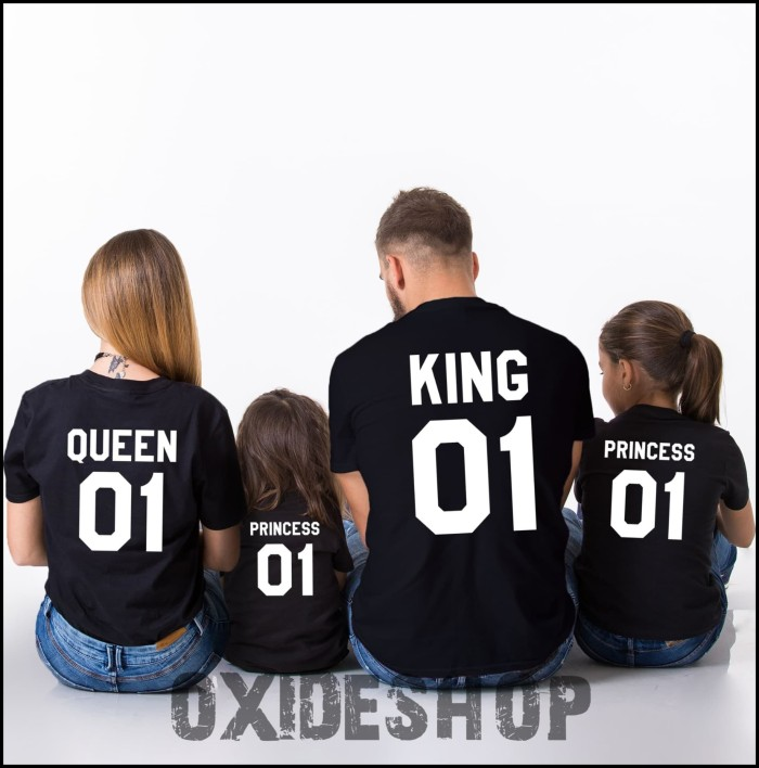 Segini Daftar Harga Kaos King Queen Logo Murah Terbaru 2019 3b5d56f0e1