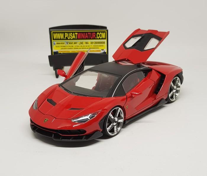 Jual Lamborghini Centenario Merah Skala 24 Jada Diecas Miniatur