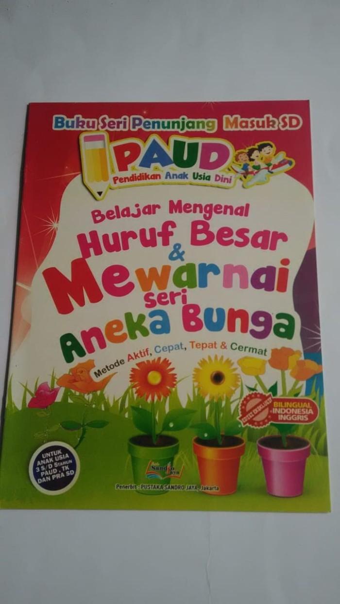 Jual BUKU BELAJAR MEWARNAI ANEKA BUNGA Jakarta Selatan TOKO AZZURAS