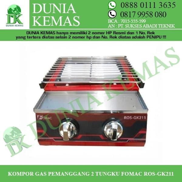 Gambar Fomac 2 Tungku Kompor