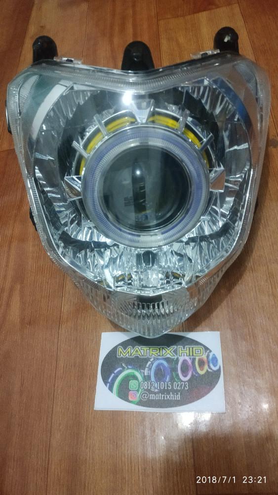 harga Headlamp projie yamahan byson Tokopedia.com
