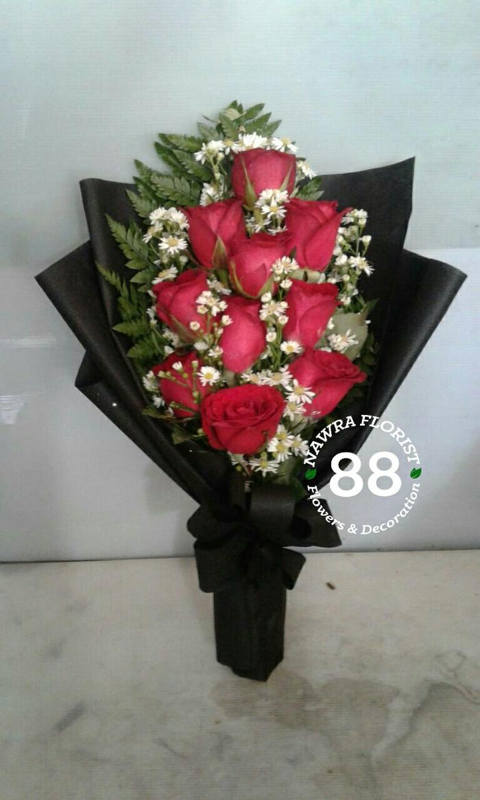 Gambar Bunga Mawar Merah Asli Gambar Bunga