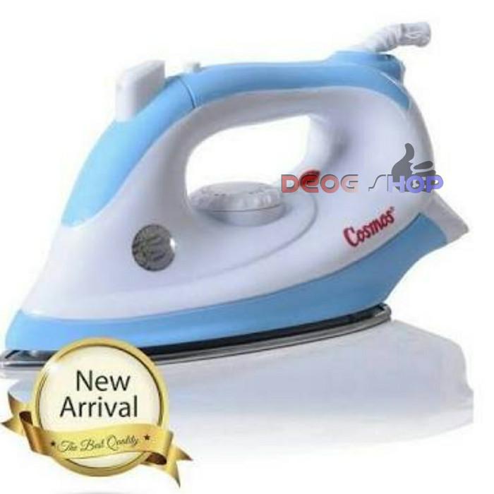 COSMOS dry iron (jet spray) CIS 438 setrika listrik 400 wat - biru - Biru