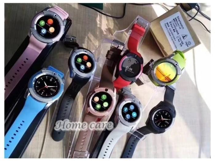 harga 17 - smart watch smartwatch v8 u10 u8 bluetooth iphone android Tokopedia.com