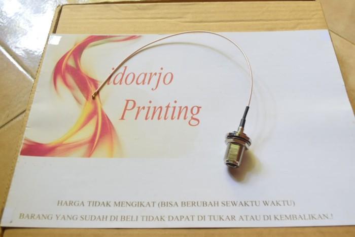 harga Pigtail ufl to n-female mini pci konektor wireless adapter... mini pci mikrotik ubiquity engenius alfa Tokopedia.com